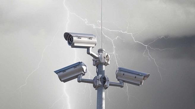 Молниезащита видеонаблюдения