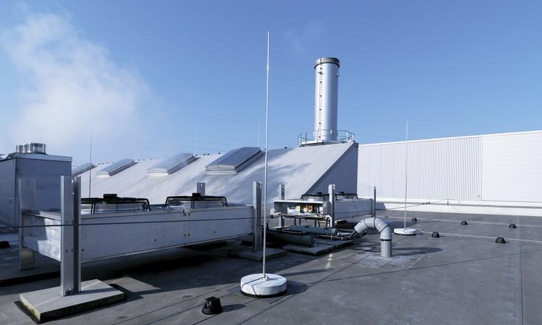 Молниезащита промышленных зданий и сооружений