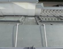 Присоединение металлических оконных рам к молниеприёмной сетке - 2