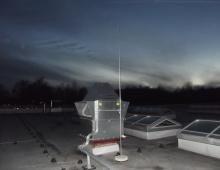 Защита оборудования с помощью молниеприёмной мачты
