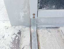 Заземление металлоконструкций фасада